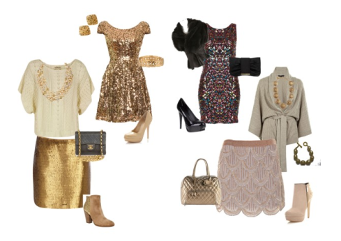 How to wear sequins: Dress up or down!